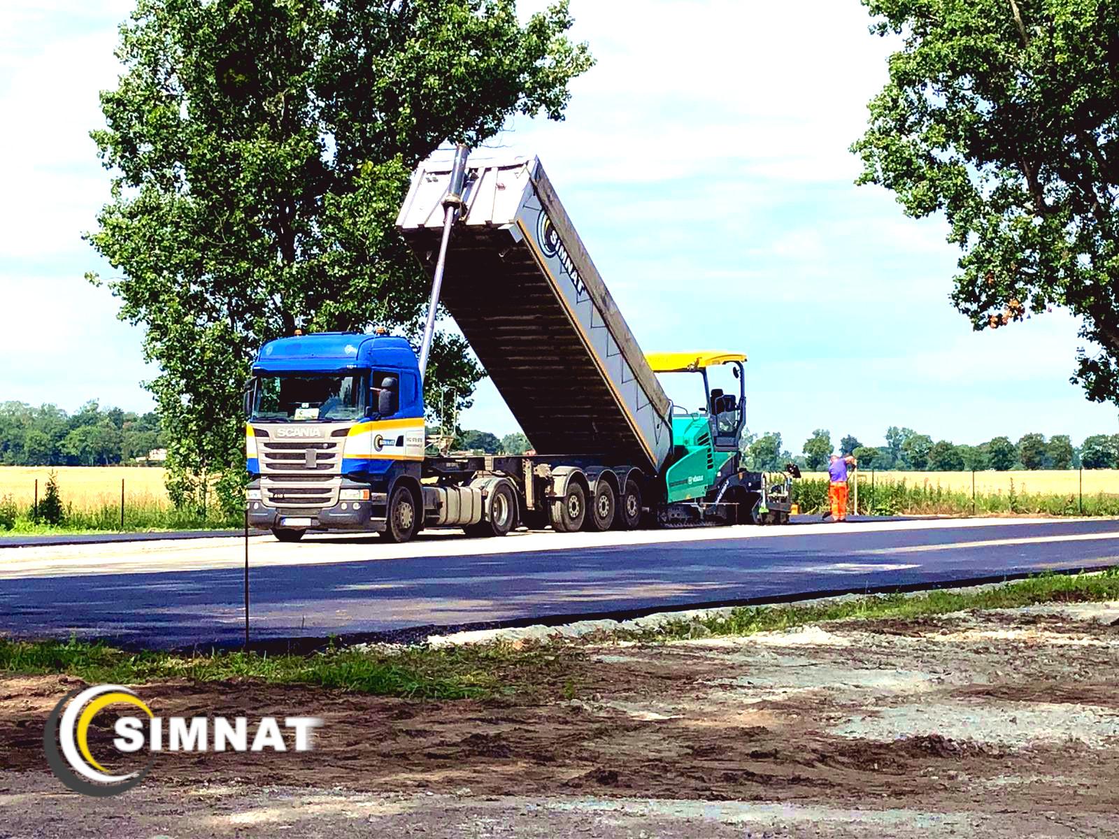 Kolejne kilometry dróg wybudowane
